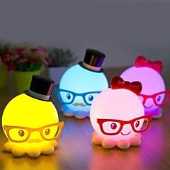 이상한 새로운 귀여운 낙지 모델 에너지 절약 소형 밤 빛 LED 데스크 램프