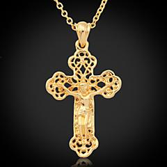olcso Nyakláncok-Női Platina bevonat Arannyal bevont 18 karátos arany Ötvözet Nyaklánc medálok Vintage nyaklánc - Platina bevonat Arannyal bevont 18
