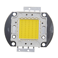 billige LED-ZDM® 1pc 4000-5000lm 30V Bulb tilbehør LED Chip Aluminium til DIY LED Flood Light Spotlight 50W