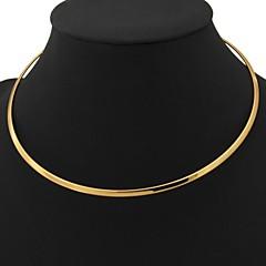 preiswerte Halsketten-Damen Torques - Platiert, vergoldet Modisch Modische Halsketten Für Hochzeit, Party, Alltag