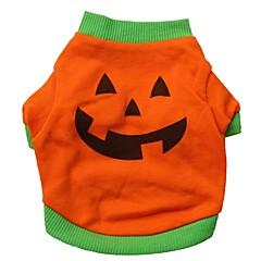 Koty / Psy Kostiumy / T-shirt / Stroje Pomarańczowy Ubrania dla psów Lato Kreskówka Cosplay / Halloween