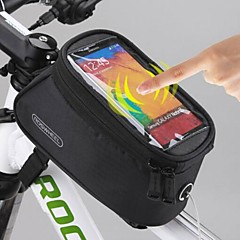 ROSWHEEL Bike Frame Bag/Phone bag 5.5 Inch for Iphone 6/6 Plus IPhone 8 / 8 Plus / 7/7 plus Iphone X Cycling Waterproof Touch Screen Phone Case Holder