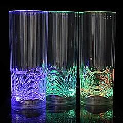 preiswerte Neuheiten LED - Beleuchtung-coway die Bar gewidmet Licht-emittierende LED-Nachtlicht geradeaus Glas