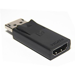 DP Display Port Male to HDMI Female Adapter Converter Adaptor