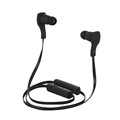 Headphone Bluetooth V3.0 Neckband Wireless Stereo with Microphone Sports for iPhone 6/iPhone 6 Plus (Black)