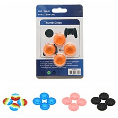 abordables Kits de Accesorios para PS4-Game Controller Thumb Stick Grips Para PS4 ,  Game Controller Thumb Stick Grips Silicona 4 pcs unidad