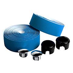 자전거 핸들 바 테이프 블루 탄소 섬유 / PU 1 pair(2 Pcs)-NUCKILY
