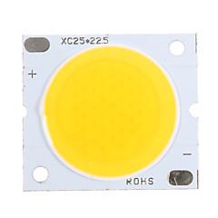 20W COB 1800-1900LM 3000K Θερμό λευκό φως LED Chip (30-34V, 600uA)