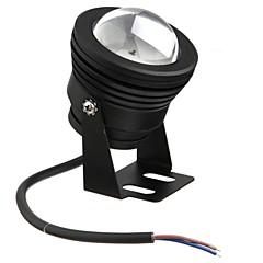 검은 10w 방수 야외 RGB 빛 수중 빛 + 24key 원격 제어를 주도 (AC85-265V)