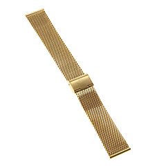 Men's Women's Watch Bands Stainless Steel #(0.047) #(16.5 x 2.2 x 0.3) Watch Accessories