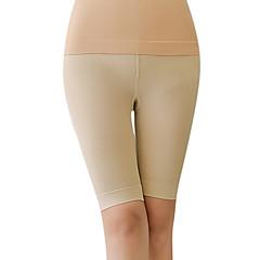 ajustáveis meados de cintura calças de queima de gordura corset sem costura das mulheres abdômen desenho stovepipe calças butt-levantamento da pele