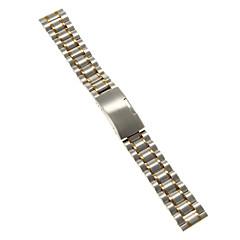 tanie Paski do zegarków-Męskie Damskie Paski do zegarków Stal nierdzewna #(0.047) #(16.5 x 1.8 x 0.3) Akcesoria do zegarków