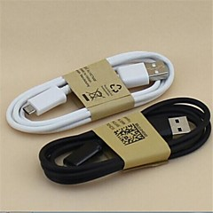 cheap -Micro USB 2.0 USB 2.0 USB Cable Adapter Normal Cable For Samsung Mobile Phone 100 cm PVC