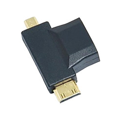 3-in-1 HDMI Micro HDMI mini HDMI adapter átalakító
