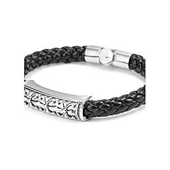 Недорогие Браслеты-Кожаные браслеты Уникальный дизайн Мода Кожа Прочее Бижутерия Повседневные Бижутерия