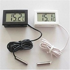4,7 * 2,8 * 1,4 cm LCD akvarium kylskåp elektronisk digital display termometer.