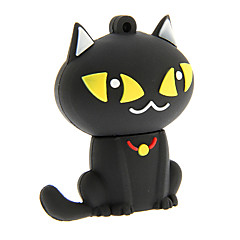 zp55 32gb cartoon zwarte kat usb 2.0 flash drive
