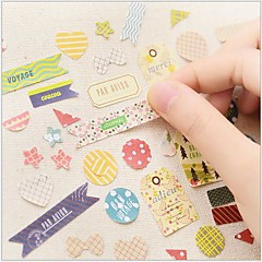 Deep Forest Serie Sticker Set(8 PCS)