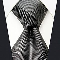 Masculino Trabalho Seda Gravata,Sólido