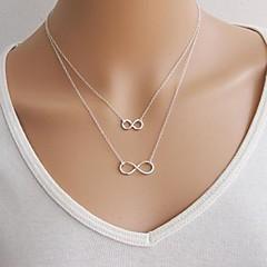 Női Nyaklánc medálok Rakott nyakláncok Ötvözet Divat Arany Ezüst Ékszerek Különleges alkalom Születésnap