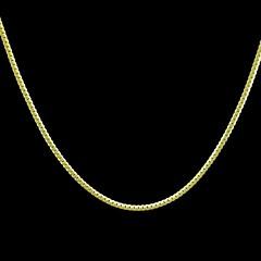 Бижутерия Ожерелья-цепочки Свадьба / Для вечеринок / Повседневные / Спорт Медь Мужчины Золотой Свадебные подарки