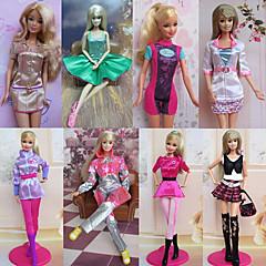 Corte Princesa Disfraces por Muñeca Barbie  Vestidos por Chica de muñeca de juguete