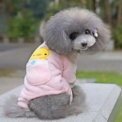 お買い得  犬用ウェア&アクセサリー-犬用品 - 冬 コットン / テリレン - パンツ - ピンク / イエロー - XS / S / M / L / XL