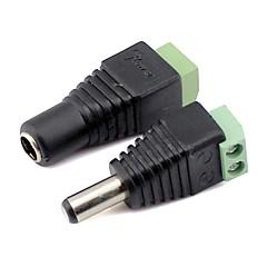 お買い得  LEDスーパーセール-ポウ供給を5050SMD 3528SMD LED電球ストリップ光に対する男性とfamaleコネクタ