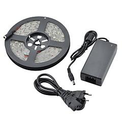 preiswerte LED Lichtstreifen-wasserdicht 5m 36w 1800lm 150x5050 SMD kaltweißes Licht führte Streifenlicht (DC 12V)