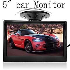 お買い得  アラーム&セキュリティ-5「高解像度のHD 800 * 480車のTFT液晶モニター画面の2chビデオ