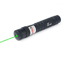 Green Laser Pointer 5Mw 532Nm Flashlight Lt-885 1X16340 Black For Outdoor