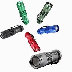 LED zseblámpák Kézi elemlámpák LED 300 lm 3 Mód Mini mert Kempingezés/Túrázás/Barlangászat Mindennapokra Utazás Dolgozó Több funkciós Az