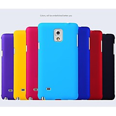 Varten Samsung Galaxy Note Other Etui Takakuori Etui Yksivärinen PC Samsung Note 4