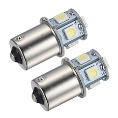 abordables Luces de Niebla de Coche-SO.K 1156 Coche Bombillas SMD 5050 45lm Luces interiores For Universal