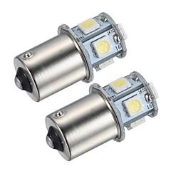 voordelige -1156 Automatisch Wit 1.5W SMD 5050 4000-4500Mistlamp Dashboardverlichting Leeslamp Nummerplaatverlichting Richtingaanwijzer Remlicht