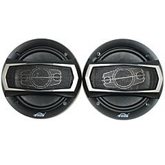 6 inch 400w auto luidsprekers inclusief bevestigingsmateriaal, zwart (paar)