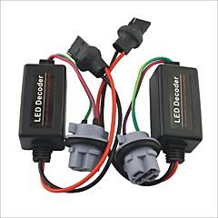 preiswerte LED Autobirnen-Auto 7440 t20 LED-Licht Warnung Canceller Lastwiderstand Decoder - 2St