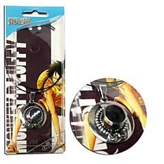Korut Innoittamana One Piece Ässä Anime Cosplay-Tarvikkeet kaulakoru Hopea Metalliseos Uros