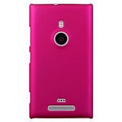 Недорогие Чехлы и кейсы для Nokia-Кейс для Назначение Nokia Lumia 925 Nokia Кейс для Nokia Матовое Кейс на заднюю панель Сплошной цвет Твердый ПК для