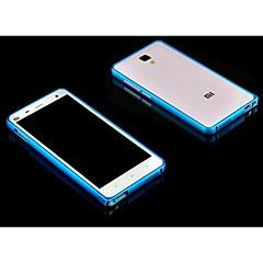 Для Кейс для Mi Защита от удара Кейс для Бампер Кейс для Один цвет Твердый Металл Xiaomi