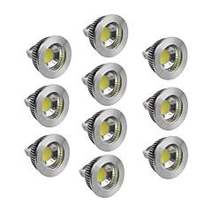 お買い得  LED 電球-5W GU5.3(MR16) LEDスポットライト 1 COB 400-450 lm 温白色 / クールホワイト / ナチュラルホワイト 明るさ調整 DC 12 V 10個