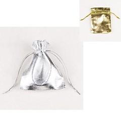 Genți de Bijuterii Material Textil Auriu / Argint