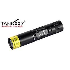 Tank007® Φακοί LED / Φακοί Χειρός LED Lumens 1 Τρόπος - AA Αδιάβροχη / Αντιολισθητική λαβή Καθημερινή Χρήση / Εργασία / Πολυλειτουργία