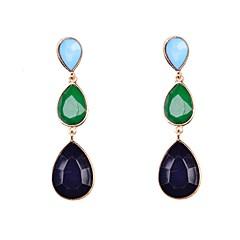 preiswerte Ohrringe-Damen Tropfen-Ohrringe - Künstliche Perle, Harz, Diamantimitate Tropfen Luxus Für Hochzeit / Party / Alltag