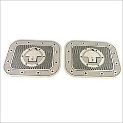 hesapli -oto araba kamyon dekorasyon yapıştırıcı damalı yakıt deposu kapağı çıkartma etiket (2 adet)