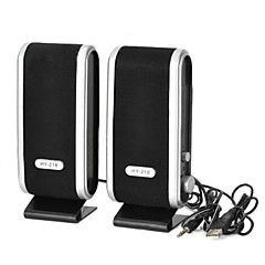 abordables Ofertas de Navidad-altavoz de la computadora estantería 2.1 CH Portable / Al Aire Libre / Mini