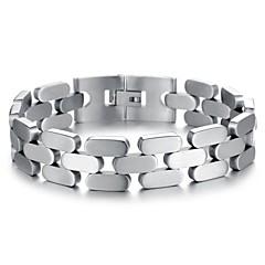 Недорогие Браслеты-Z&x® европейском стиле роскошных 1.5cm ширина титана стали мужские браслеты (подходит для чувствительной кожи)