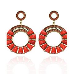 billige Herre Smykker-Women's Fashion  Vintage  Circle Diamante Earrings(More Colors)