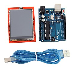 "cheap -UNO R3 Board Module + 2.4"" TFT LCD Touch Screen Shield Expansion Board for Arduino"