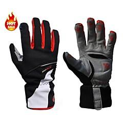 West biking Sports Gloves Bike Gloves / Cycling Gloves Ski Gloves Keep Warm Waterproof Windproof Fleece Lining Breathable Protective